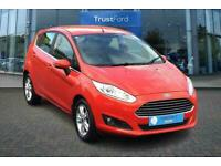 2017 Ford Fiesta 1.25 82 Zetec 5dr with Hill Launch Assist,My Key,Remote central
