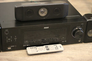 1,000 watts RCA 5.1 Home Theatre System with Subwoofer