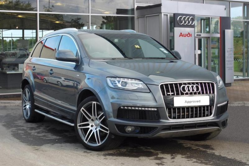 2014 audi q7 3 0 tdi 245 quattro s line plus 5dr tip auto automatic. Cars Review. Best American Auto & Cars Review