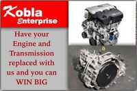 Engine and Transmission replacement and servicing