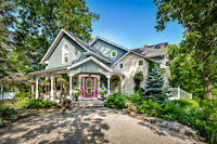 Gorgeous Estate Home with  car garage and shop Elora