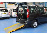 Fiat Doblo Wheelchair car disabled accessible vehicle mobility van ramp low mile