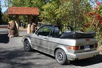 1990 Volkswagen Cabrio Cabriolet