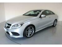 2014 Mercedes-Benz E-CLASS 2.1 E220 CDI AMG SPORT 2d AUTO-2 OWNER CAR-18 inch AL