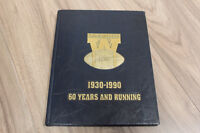 Limited Edition Blue Bombers 1930-1990 60 Years and Running book