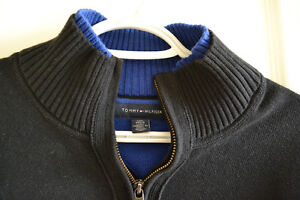 Tommy Hilfiger 1/4-zip sweater - size large London Ontario image 2