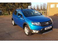 2016 66 Dacia Sandero Stepway 1.5dCi Laureate 5 DOOR MANUAL DIESEL