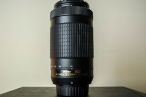 *SOLD* Nikon 70-300 Telephoto Lens - MINT CONDITION