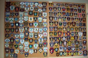 A Vendrwe collection de Badges d'épaule de services de police