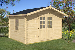 Log Shed  DIY building kit