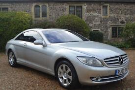 Mercedes-Benz CL 500 5.5 auto 500, FULL MERC HISTORY, 2 OWNER, NEW MOT,