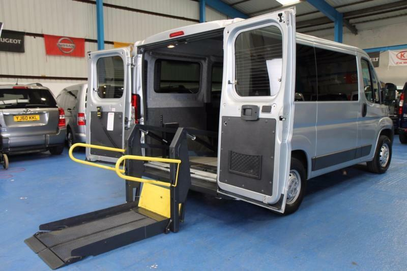 Auto Lifts For Disabled : Peugeot boxer wheelchair accessible minibus disabled van