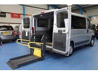 PEUGEOT BOXER Wheelchair Accessible minibus disabled van ricon lift 7 Seats