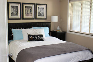 Furnished Master Bedroom in 2 bedroom Condo for Rent
