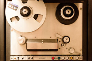 "AMPEX AG-440B 1/4"" 2 TRACK TAPE MACHINE"