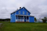 Maison à louer aux Iles de la Madeleine