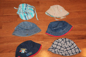 6m-1 year old baby boys summer hats