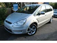 2006 Ford S-Max 2.0TDCI TITANIUM 140PS Silver New MOT 7 Seater Finance Available