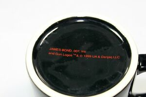 James Bond A License to Thrill Coffee Mug/ Cup Black from 1999 Kingston Kingston Area image 6