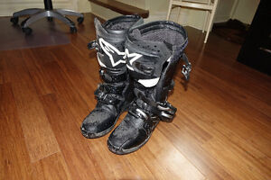 Alpinestars Motorcycle Boots Tech 3 Size 11