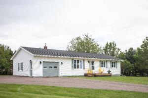 Newly renovated, 4 bedroom house, attached garage in Malpeque.