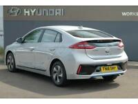 2018 Hyundai Ioniq 1.6 GDi (105ps) Premium Hybrid DCT PETROL/ELECTRIC silver Sem