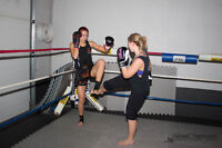 50% OFF WOMANS ONLY KICKBOXING CLASS SEPT ONLY!!