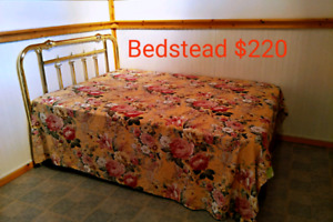 Bed, Table, Bedstead