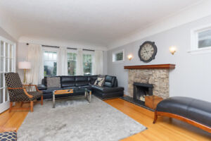 ALL INCLUSIVE Fernwood Bright Four Bedroom Character Home