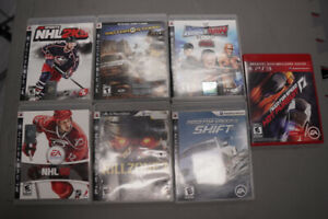 7 PS3 Games for 20$ or 5$ each