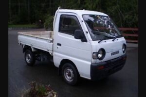 PRICE DROP Rare Suzuki carry mini truck 4x4
