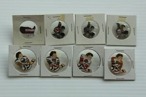 Vintage Packaged  HOCKEY USA & NHL PIN Lot of 8
