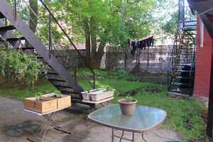 Furnished room with beautiful backyard (June 1 to August 24)