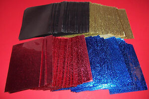 Yu-Gi-Oh Deck Protectors 4 Different Sparkly Colors