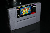 SUPER NINTENDO-THE SIMPSONS-BART'S NIGHTMARE
