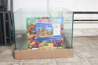 brand new flameless fish tank for cheap price
