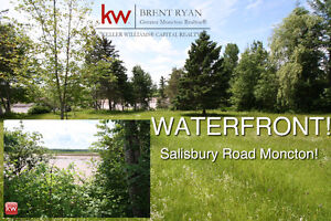RARE WATERFRONT LOT IN MONCTON!