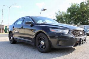 SOLD - 2013 Ford Taurus - Police Interceptor - AWD - Reverse Cam