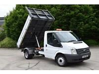 2.2 350 DRW 2D RWD MWB 125 BHP SINGLE CAB EURO 5 TWIN WHEEL DIESEL TIPPER 2012