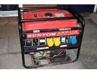 2 x Petrol Engine ELECTRIC START Generator 5500 Watts + One for parts