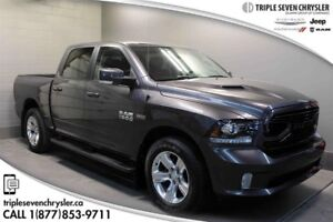 2018 Ram 1500 Sport (140.5 WB - 5.7 Box) Only 17000 KM!!  Save T