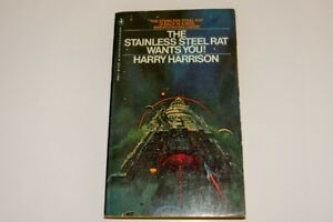 The Stainless Steel Rat Wants You by Harry Harrison.  1979 pb
