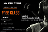 Free Workout - come down and join us