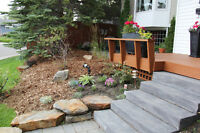 Landscaping, Irrigation, Fence and Deck construction