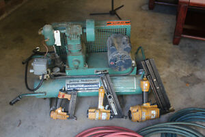 Compressor and Nail Guns