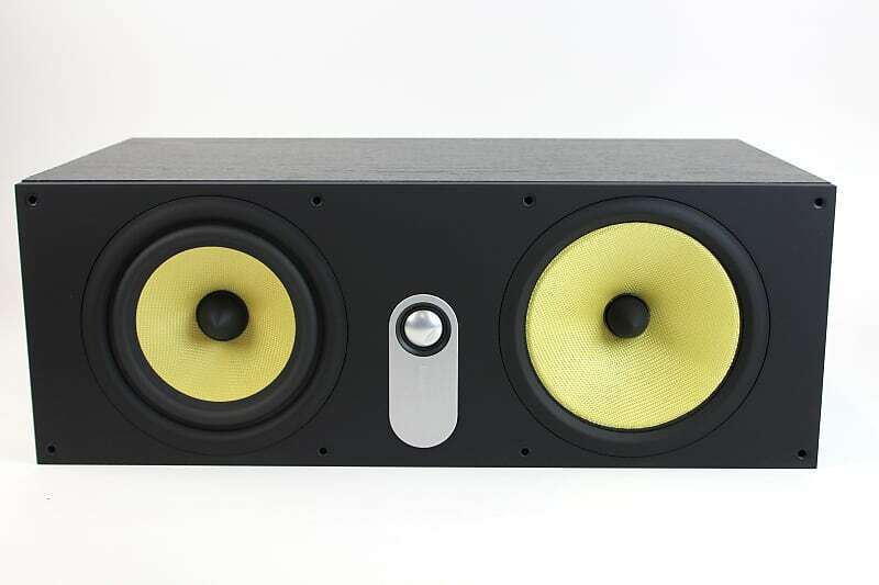Bowers Wilkins - 600 Series HTM61 Dual 6-1/2 Center-Channel Speaker Used Mint - $697.00