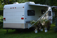 Bonair Travel Trailer with New Battery