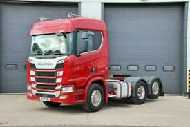2017 (17) SCANIA R Series R580 V8 (Euro 6) 6X2 Tractor Unit
