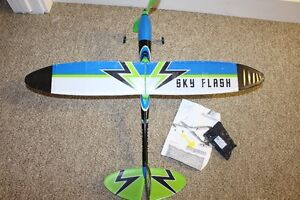 rubber powered Skyflash airplane from GUNTHER