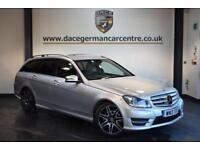 2013 13 MERCEDES-BENZ C CLASS 2.1 C220 CDI BLUEEFFICIENCY AMG SPORT PLUS 5DR AUT